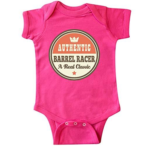 inktastic - Barrel Racer Vintage Classic Infant Creeper 24 Months Hot Pink 21578