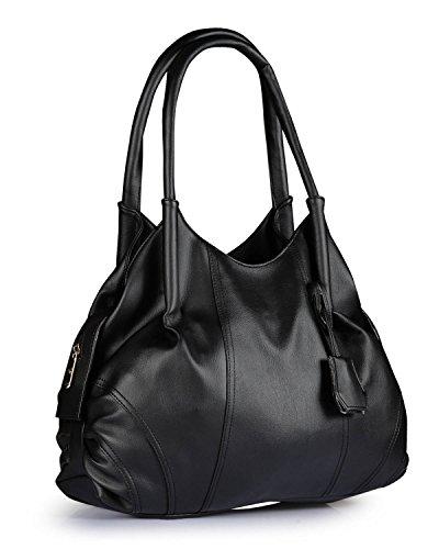 Fostelo Women's Jane Shoulder Bag (Black) (FSB-948)