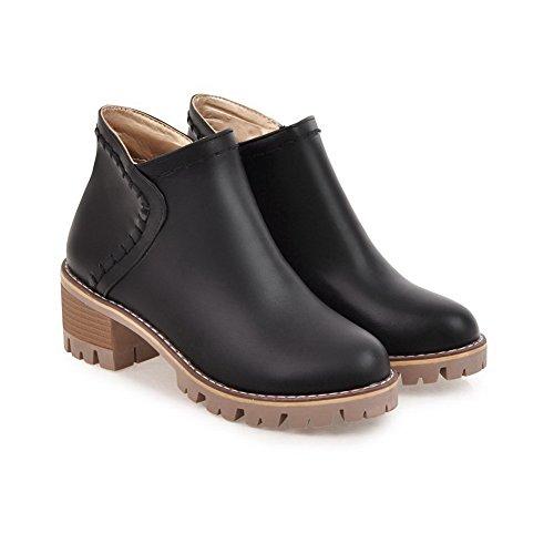 Balamasa Dames Comfort Platform Antislip Urethane Laarzen Abl09945 Zwart