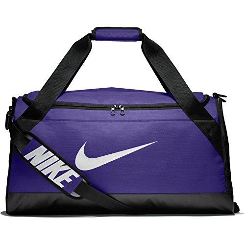 Nike Brasilia (Medium) Training Duffel Bag - TM PURPLE/BLACK/WHITE - BA5334-547 -