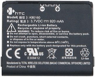 - OEM Tmobile HTC Shadow Standard Battery