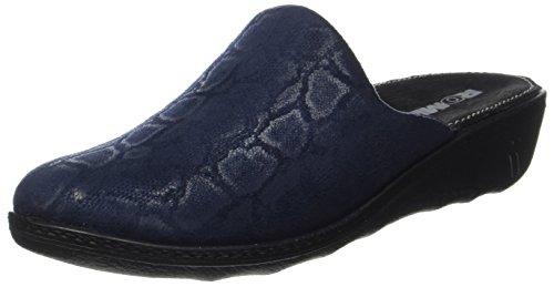 Blau Romilastic Femme 382 Chaussons Blau ROMIKA Mules 500 Oxq1dw