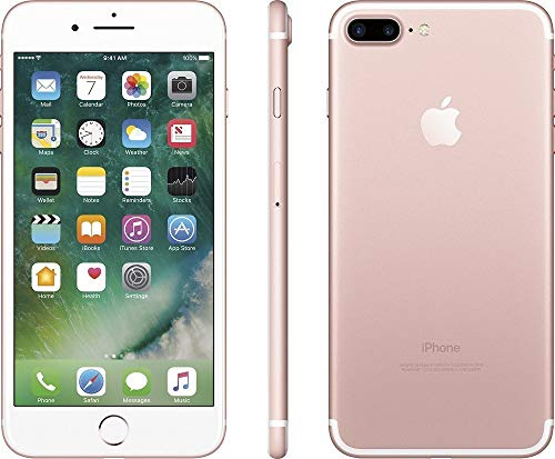 Apple iPhone 7 Plus, 128GB, Rose Gold - Fully Unlocked (Renewed) - http://coolthings.us