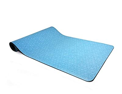 Yoga mat 5mm Fitness Mat Printing Foldable Thicker 60180CM