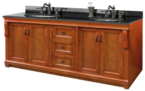 pegasus nacat7222d naples 72inch double vanity combo warm cinnamon bathroom double vanities amazoncom