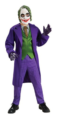 [Costumes For All Occasions Ru883106Lg Joker Deluxe Child Large by Unknown] (Childrens Joker Costume)