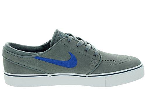 Nike Mens Zoom Stefan Janoski Skate Schoen Cl Grijs / Gm Ryl / Sqdrn Bl / Wit 9.5 D (m) Us