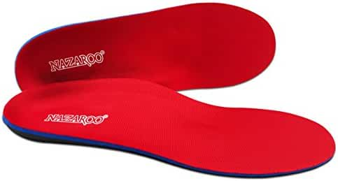 Orthotic Insoles for Flat Feet Fight Against Plantar Fasciitis,Relieve Feet Pain,Heel Pain and Pronation for Man and Women Running Shoes, Dress Shoes or Work Boots.