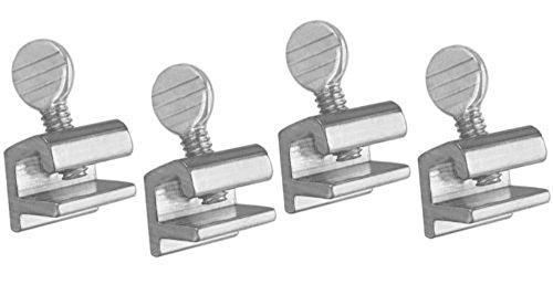 Aluminium sliding window lock, 3 step fast installation. No tools or keys requires. reusable.