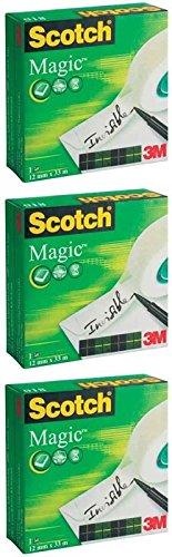 Scotch Magic Tape - 19mmx33m (3)
