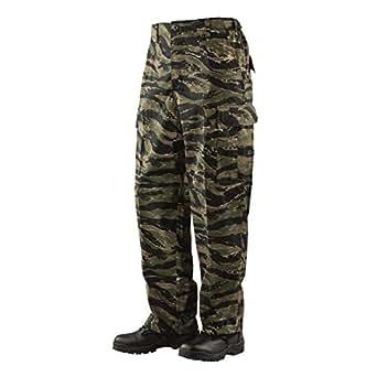 Tru-Spec BDU Trousers CP Twill Vietnam Tiger Stripe XS-Reg 1628002