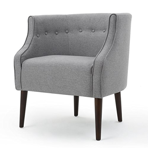 Davidson Tub Design Upholstered Accent Chair (Grey)