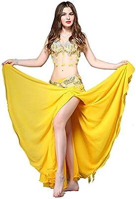 Disfraces de baile para mujer Belly Dance Costume Bra y falda ...