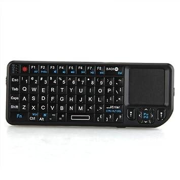 Teclado Inalámbrico Bluetooth para PC Ordenador Portátil 2.4G RF: Amazon.es: Electrónica