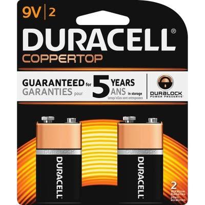 Duracell MN1604B2Z Alkaline General Purpose Battery - Alkaline - 9V DC