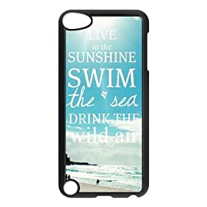 DIY High Quality Case for Ipod Touch 5, Beach Sun Phone Case - HL-522944