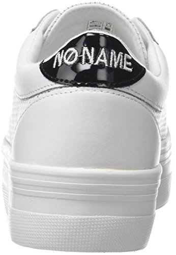 Sneakers bianco basse donna Plato da bianche Punch Name No Nappa Bridge gXffRq