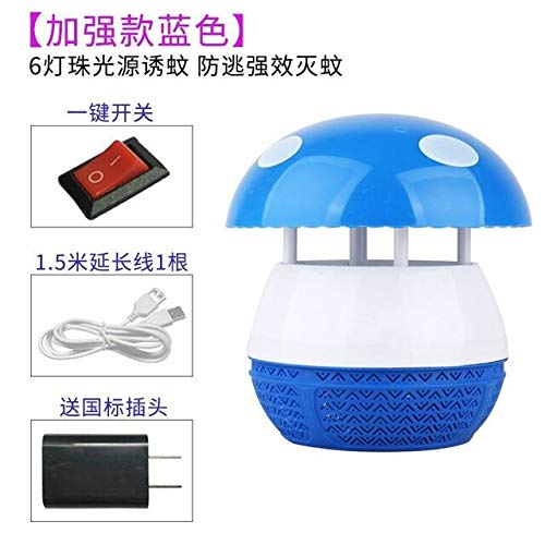 Outdoors Mushroom Baby Student Trap Nothing Radiation The Mosquito Lamp Household Restaurant Battery Type Hotel Mosquito Organ   7