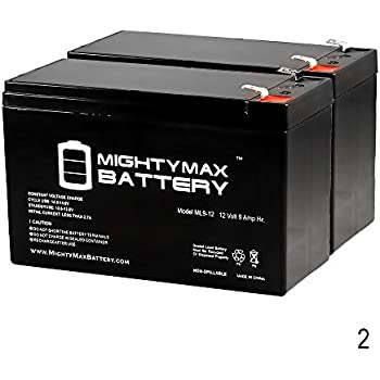 12V 9AH Replacement for Razor Pocket Mod Electric Scooter - 2 Pack - Mighty Max Battery brand product