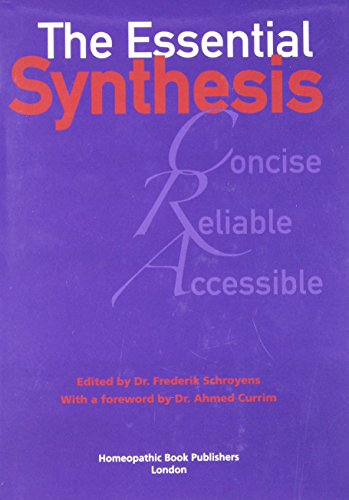 The Essential Synthesis Frederik Schroyens