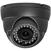 Amview 1080P HD CCD 2.8-12mm Varifocal Lens 36pcs infrared LEDs Night Vision Dome Camera