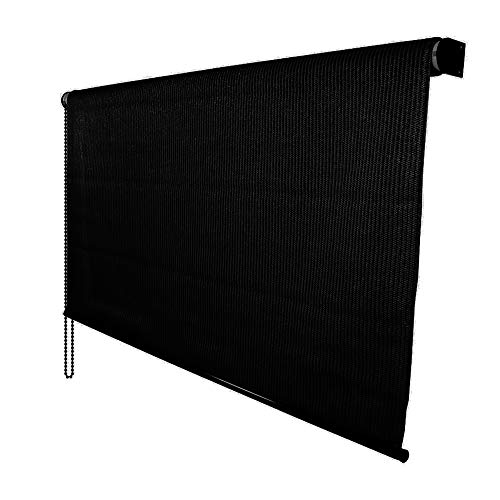 DALIX Outdoor Roller Shade Exterior Roll-Up Sun Shade Patio Outdoor 72 x 72