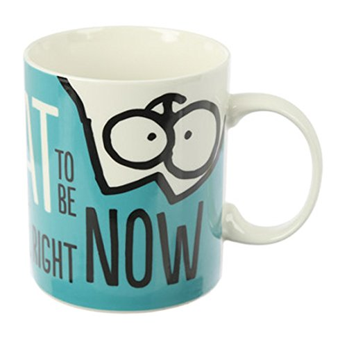 Simon 's Cat - Tasse Blau