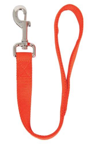 Ruff Maxx 10826 2-Ply Nylon Dog Leash, Orange