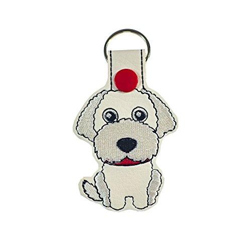 Labradoodle or Goldendoodle Dog Key Fob or Luggage ()