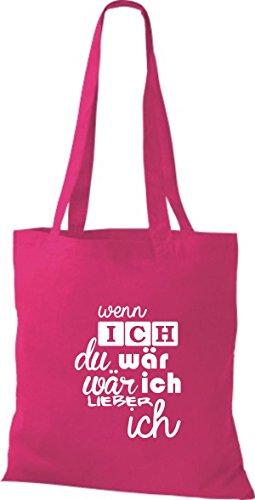 De Tela Rosa Fucsia Shirtstown Algodón Para Mujer Bolso ZAxnqpw5
