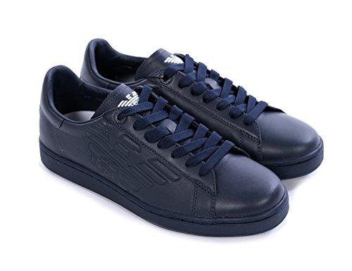 Ea7 Emporio Armani sneakers uomo blu-40 2/3