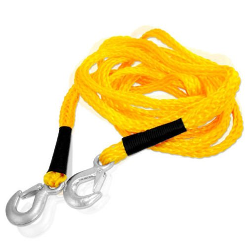 "1"" x 20' Poly Braid Super Strong 6500lbs Tow Rope with Ho..."