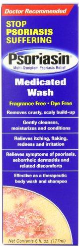 Psoriasin Wash médicamenteux, 6 onces (pack de 2)