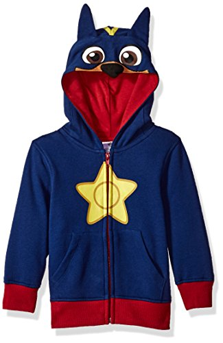 Nickelodeon Little Boys' Paw Patrol Chase Costume Hoodie, Blue, 3T