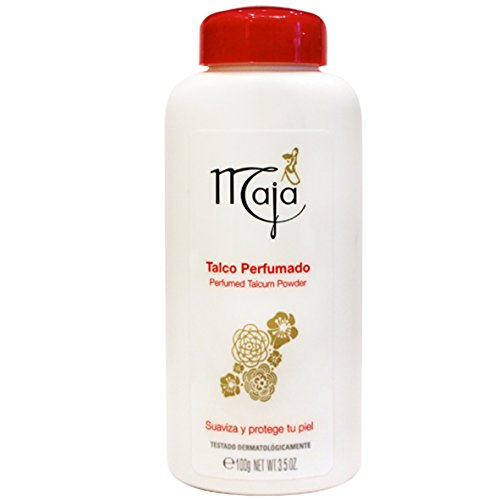 Maja Perfumed Talcum Powder Talco Perfumado 3.5oz 100g