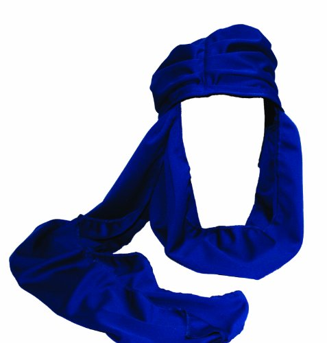 Blue Medieval Knight Costumes (Alexanders Costumes Arabian Knight Turban, Blue, One Size)