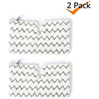 Bonus Life Multi-Material Steam Mop Pads for Shark S3501 S3550 S3601 S3801 S3901 SE450 12.5 x 7.5 inches, 2 Pack