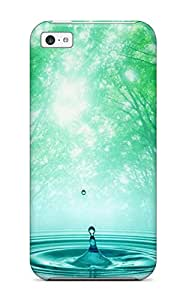 New Style ZippyDoritEduard Hard Case Cover For Iphone 5c- Spring Waters