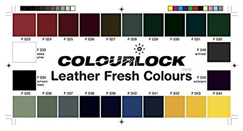 COLOURLOCK Leather Fresh dye is a DIY Repair Color, dye, restorer for scuffs, small cracks on car seats, sofas, bags, settees and clothing - 1 Litre F025 by Colourlock (Image #3)