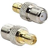 DHT Electronics RF coaxial coax adapter SMA female to F female