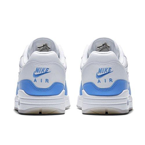 Nike Herren Air Max 1 Premium Sc Gymnastikschuhe Wit / Universiteit Blauw / Universiteit Blue