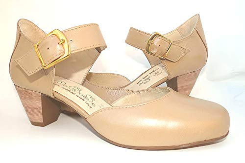 D 3E XXW Width by OGSwideshoes O.G.S Wide Shoes Letizia Tan Extra Wide Fit Formal Dance Shoes