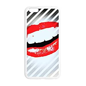 Umak Woman Smile Sexy Lip Print For Iphone6 Plus Cover Shell Artistic Design Cover Case for iPhone6 Plus 5.5
