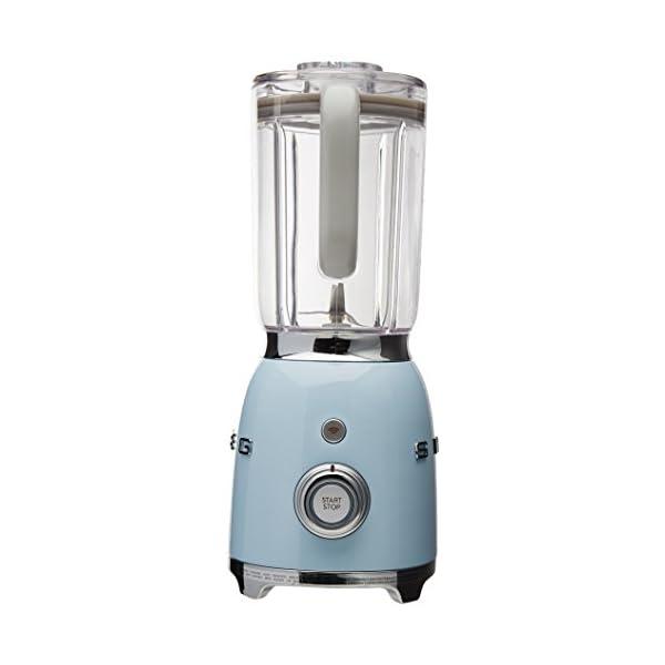 Smeg BLF01PBUS 50s Style Blender, Blue 2