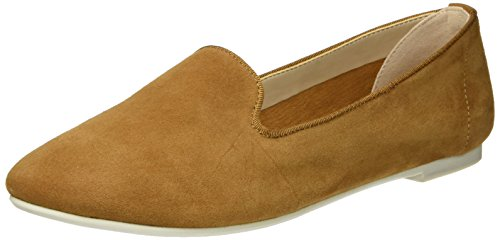 Suede Marrone Buffalo 01 London Brown 3335 216 Ballerine Kid Donna qwF47w