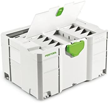 Festool SYS 3 TL-DF Systainer DF T-Loc - White