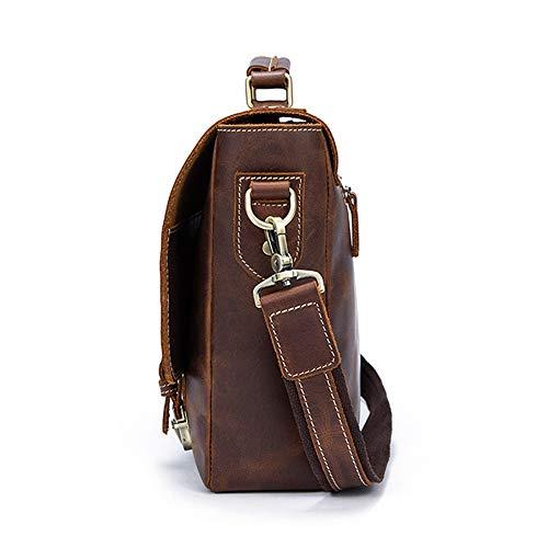 Vintage Luxury Bandolera Hombres Men's Y Del Maletín Día Moda Handbag Orlando De Laboral Cuero Escuela La Beck Bolso Messenger Para qwzEC4T