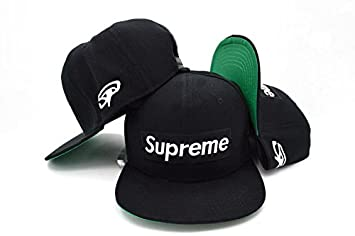 Supreme Basic Snapback Cap Hat Limited Edition  Amazon.co.uk  Sports ... b2387185a28