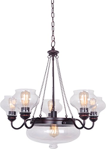 Craftmade 35026-OBG 6 Light Chandelier