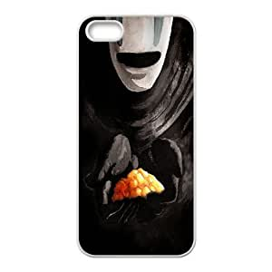 IPhone 5,5S Cases Spirited Away no Face, - [White] Bloomingbluerose